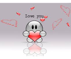 love cartoon wallpapers for mobile gallery