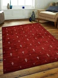 red and white rug carpets hand knotted loom wool contemporary area southwestern rugs by get my