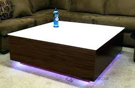 coffee table with led lights coffee tables with led lights table series x intended for lighted coffee table with led lights