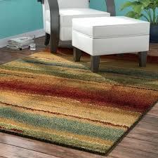 burdy cream dark brown area rug 8x10 latitude run