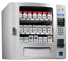 What Happened To Cigarette Vending Machines Best CIG 48 Selection Tobacco Machines 48 Select SILVER Tobacco