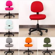free elastic fabric 100 spandex seat covers for computer chairs fundas para sillas de