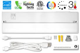 Energy Star Under Cabinet Lighting Galleon Britelum 14 Inch 3 In 1 Color Temperature