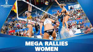 EPIC Moments of Women's Tournament   FIVB Beach Volleyball Championships  Hamburg 2019 - YouTube