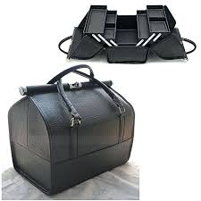 large makeup train case black nyx makeup artist train case with lights extra large black silver