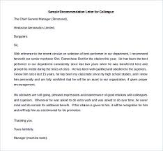 Sample Recommendation Letter To Follow For The Best Of It
