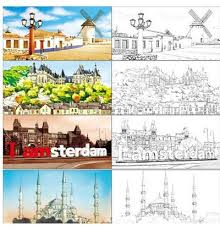 Small Picture Sensational Idea Travel Coloring Book The To Mind Colouring Secret