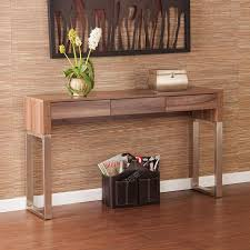 sofa table with storage. Wood Topped U Legs Console Sofa Table With Storage