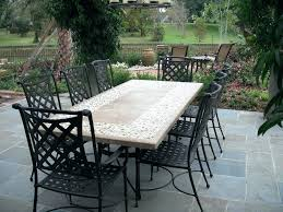 stone table top patio furniture really encourage and 12