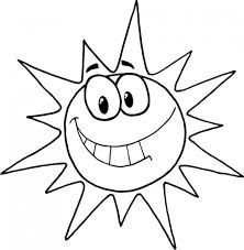 Small Picture Coloring Pages Colouring Pages Of Sun Coloring Page Cartoon