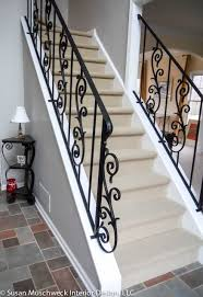 Wrought Iron Stair Railings Interior Amaze Railing Entryway Traditional  Staircase Other 17