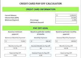 How To Payoff Credit Card Debt Calculator How To Payoff Credit Card Debt Calculator Freeletter Findby Co