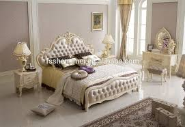 French Empire Style Furniture King Size Bedroom Furniture White 4 Door  Wardrobe
