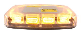 110 Volt Light Bar Vswd 110 1b A Amber Led Compact Mini Light Bar Clear Dome