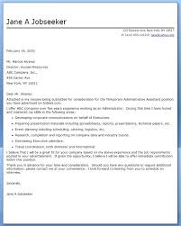 Administrative Cover Letters Brilliant Ideas Of Cover Letter