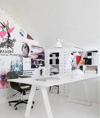 scandinavian office design. Stylish Scandinavian Home Office Designs Design