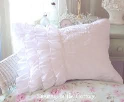 ruffled pillow shams. Perfect Ruffled Ruffle Pillow Shams In Ruffled Pillow Shams R