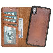 burkley case detachable leather wallet case for apple iphone xs max with magnetic closure and premium
