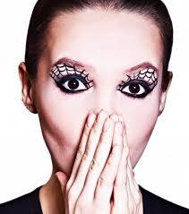 black widow spider makeup