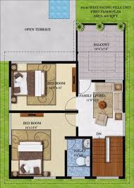 west facing house plans 30 x 60 for 30 60 house design