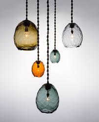 beautiful multi colored glass pendants