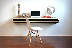 office floating desk small. Floating Wall Desk Designs . Office Small E