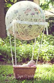 98 Best Hot Air Balloon Party Ideas Images On Pinterest  Balloon Vintage Hot Air Balloon Baby Shower