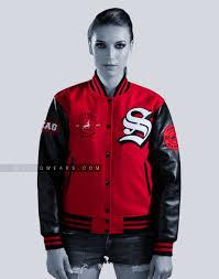 varsity letterman jacket faux leather customized