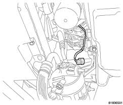 replacement procedure alternator 2007 dodge caliber sxt 2007 dodge caliber ac wiring diagram 2007 Dodge Caliber Ac Wiring Diagram unplug field circuit from generator