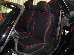 chrysler pt cruiser full piping seat covers