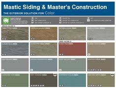 Mastic Siding Color Chart 109 Best House Addition Images In 2019 House House Colors