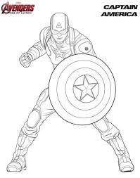 Disegni Da Colorare Disegni Da Colorare Avengers Stampabile