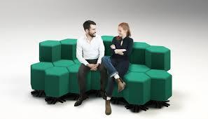 Shape shifting furniture hints at mercial interiors of the future