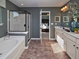 Contemporary Master Bathroom With Inset Cabinets  Master Bathroom - Contemporary master bathrooms