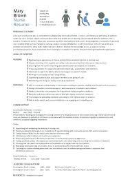 Nurse Resume Examples Nurses Resume Examples Best New Grad Rn Resume