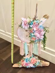 Dream Catcher Baby Shower Decorations 100 Dream Catcher Driftwood centerpiece Boho baby wedding decor 43