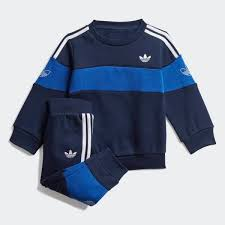 adidas <b>Комплект</b>: свитшот и <b>брюки</b> Bandrix - синий | adidas Россия