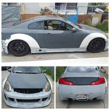 03-07 Infiniti G35 Coupe SBLW Sspeed Complete Kit – Strictly ...