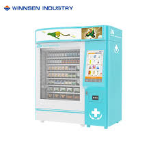 Pharmacy Vending Machines South Africa Best China Commercial Medical Vending Machine With RFID CAD Reader