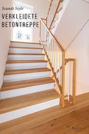 Eine treppe neu belegen mit holz oder laminat ist mit unserem system schnell, einfach und günstig. So Wird Die Kahle Betontreppe Wohnlich In 2020 Treppe Betontreppe Holzstufen