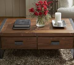 Coffee Table With Drawers Industrial Coffee Table With Drawers Coffee Tables