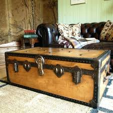 antique trunk coffee table into the glass choose be wooden