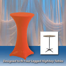 spandex round fitted tablecloth for 36 round highboy table 42 tall