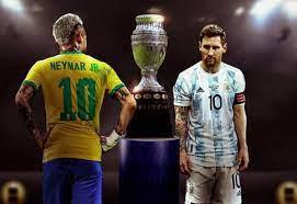 بث مباشر مشاهدة مباراة البرازيل ضد الأرجنتين الأحد 11-7-2021 في نهائي كوبا  أمريكا - واتس كورة
