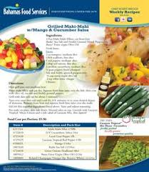 grilled mahi mahi with mango salsa bahamas food services recipes