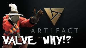 artifact dota 2 card game valve s new game commetary youtube