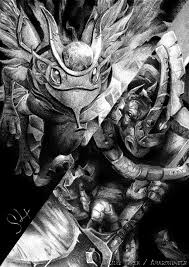 my drawing of puck magnus 3 dota2