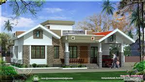 style bedroom home plan style bedroom home plan  kerala single floor house single floor house