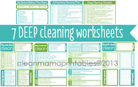 Cleaning Around the Seasons  Deep Cleaning On Your Schedule    Cleaning Around the Seasons  Deep Cleaning On Your Schedule   Cleaning  Deep Cleaning and Worksheets