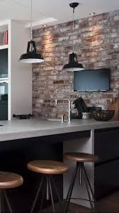 new york loft kitchen design. concrete kitchen in old look new york style loft design f